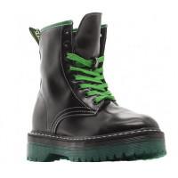 Ботинки Dr. Martens 1490 Vetemens черные с зеленым