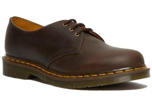 Ботинки Dr. Martens 1461 Gaucho Crazy Horse коричневые