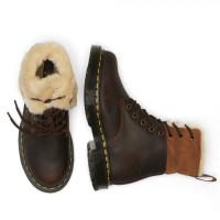 Ботинки Dr. Martens 1460 KOLBERT зимние коричневые