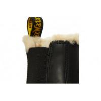 Ботинки Dr. Martens CHELSEA LEONORE с мехом черные