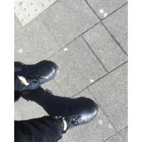 Ботинки Dr. Martens 1460 SERENA зимние черные