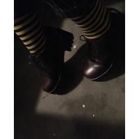 Ботинки Dr. Martens 1460 высокие бордовые