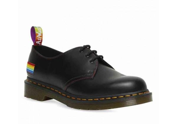 Ботинки Dr. Martens 1461 Pride Black Smooth черные