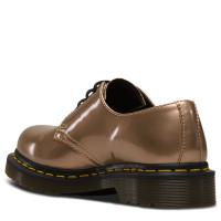 Ботинки Dr. Martens 1461 Chrome Metallic Paint Rose золотые