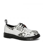 Ботинки Dr. Martens 1461 Sex Pistols черно-белые