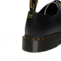 Ботинки Dr. Martens 1461 черные с рисунком