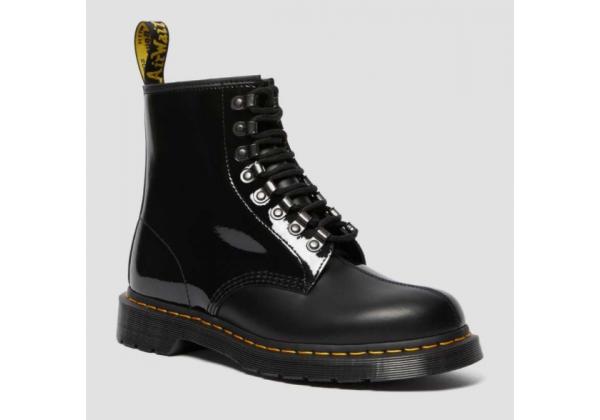 Ботинки Dr. Martens 1460 x Pleasures Patent черные