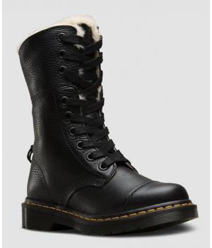 Ботинки Dr. Martens 1460 Aimilita зимние черные