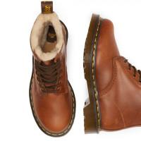 Ботинки Dr. Martens 1460 зимние коричневые