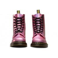 Ботинки Dr. Martens 1460 PASCAL ICED METALLIC розовые