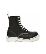 Ботинки Dr. Martens 1460 PASCAL черно-белые