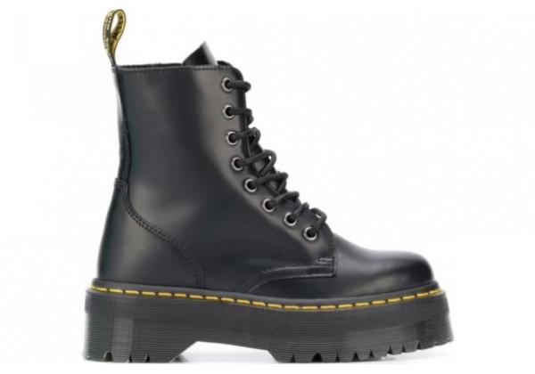 Ботинки Dr. Martens Jadon черные на платформе