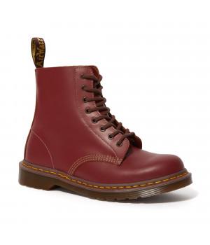 Ботинки Dr. Martens 1460 Vintage Hf Made In England бордовые