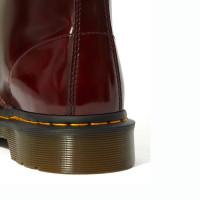 Ботинки Dr. Martens 1460 Vegan бордовые