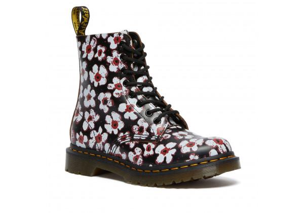Ботинки Dr. Martens 1460 Pascal Pansy Fayre с цветами