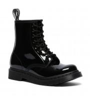 Ботинки Dr. Martens 1460 Mono Patent Lamper черные