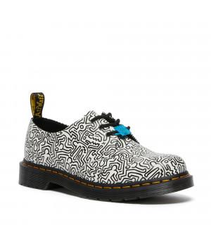 Ботинки Dr. Martens 1461 Keith Haring Smooth белые
