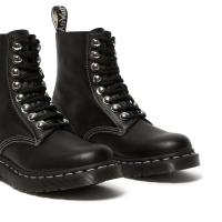 Ботинки Dr. Martens 1460 Pascal со строчкой черные